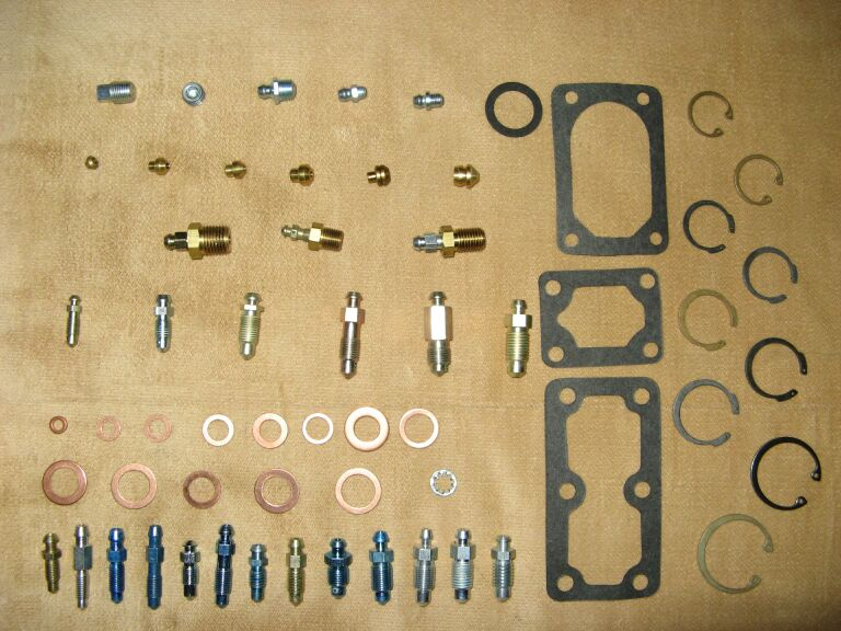 Parts which we supply at no charge
